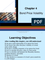 Bond Price Volatility - Fabozzi - Notes