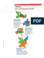 visual summary national and regional growth