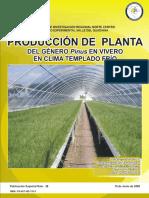 Produccion de Planta Del Genero Pinus en Vivero en Clima Templado Frio