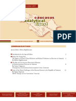 Caucasus Analytical Digest 98
