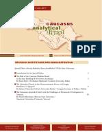 Caucasus Analytical Digest 97