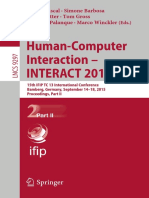 (Lecture Notes in Computer Science 9297) Julio Abascal, Simone Barbosa, Mirko Fetter, Tom Gross, Philippe Palanque, Marco Winckler (Eds.)-Human-Computer Interaction – INTERACT 2015_ 15th IFIP TC 13 In