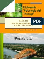 Presentaci n de Afrontamiento Ante El Riesgo y El Estr s Ook
