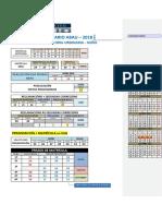 calendario selectividad