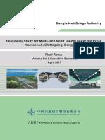 Karnaphuli Tunnel Feasibility Study Report
