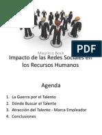 Impacto de Las Redes Sociales en RRHH Publico
