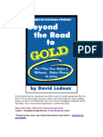 Beyond the Road to Gold