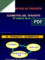 Elementos Del Tránsito USUARIO ISem 2017