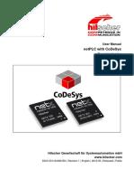 NetPLC With CoDeSys - Commissioning UM 01 En