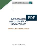Explosivos - Guia 1 - Reseña Historica