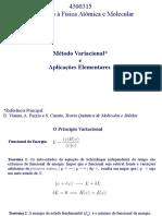 Aula 3 de Introdução à Física Atômica e Molecular - Método Variacional