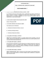 Cuestionario N. 1 Licitaciones
