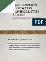 4.6 Programación Lógica Con Números, Listas y Árboles.