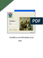 Instruções Matrículas via Portal Do Aluno (1)