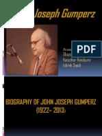 John Joseph Gumperz (1)