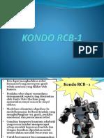 KONDO RCB-1 Presentasi
