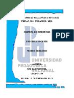 Carpeta de Evidencias 1ero Semestre 2014-2015