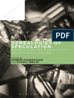 Avanessian & Malik (Eds.) ~ Genealogies of Speculation Materialism and Subjectivity since Structuralism
