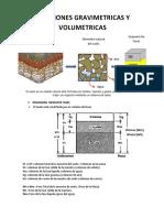 Formulas Relaciones Granulométricas y Volumétricas