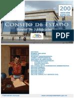 Boletin 200 Consejo de Estado Edicion Especial