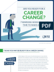 eBook - 7 Signs You Are Ready for a Career Change