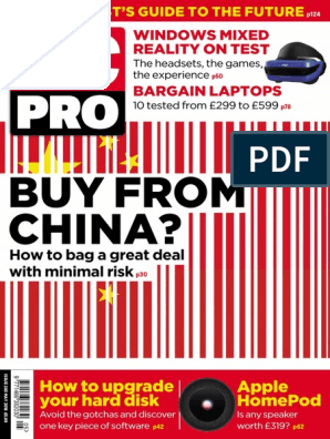 PC Pro - May 2018 | Personal Computers | Laptop