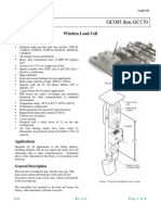 Lsi Gcxxx Load Cells Datasheet