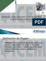 Manual Para Rigger y Operadores  Equipos De Levante.pdf