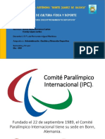 Comité Paralímpico Internacional (IPC)