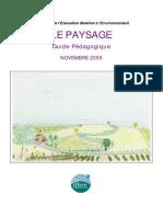 ANNEXE 6 Guide Pedagogique Sur Le Paysage