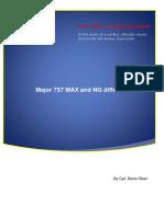 Major B737MAX and NG Differences v 0.2