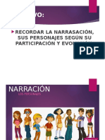 ELEMENTOS DE NARRACIÓN 8VO.ppt