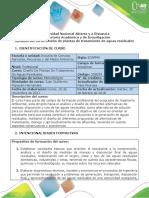 Syllabus Del Curso Diseño de Plantas de Tratamiento de Aguas Residuales