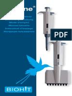 Pipeta Mecanica Prolinevolumen Variable 720060