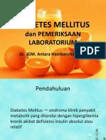 Diabetes Mellitus Rev
