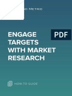 Engage Targets With Market Research