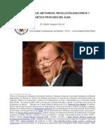 Dr. Adolfo Vasquez Rocca_Peter Sloterdijk; Metoikesis, revolución anacoreta y cinética profunda del alma