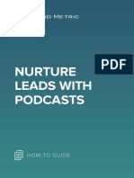 Nurture Leads with Podcasts