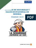 Informe de Seguridad Febrero 2018