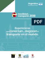 Movilidad y Transporte 2018 - Programacion Congreso Movilidad