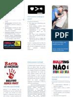 Folheto Bullying