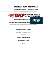 Proyectos i - uap