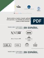 Historia Breve de La Traducción Biblica en EspañolCOND