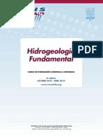 "8º Curso a distancia ""Hidrogeología fundamental"" (2018 – 2019)"