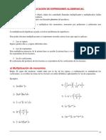 Plan de Mejoramiento Álgebra Curso 903