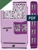 Homework Punchard Purple
