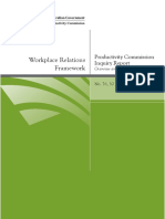 Workplace Relations Overview