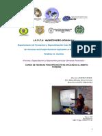 Programa Curso de Tecnicas Psicoproyectivas Aplicadas Al Ambito Forense Icpfu 2016ok