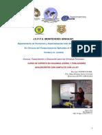 Programa Curso Experto en Violencia Juvenil y Poblaciones Adolescentes Con Conflicto Con La Ley 2017 Icpfu