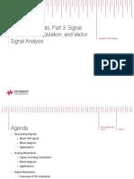 Signal Generation Modulation and Vector Signal Analysis